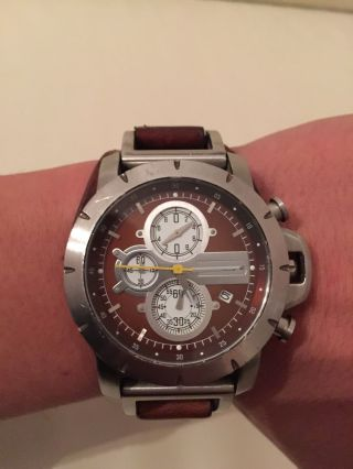 Fossil Jr1157 Armbanduhr Für Herren Bild