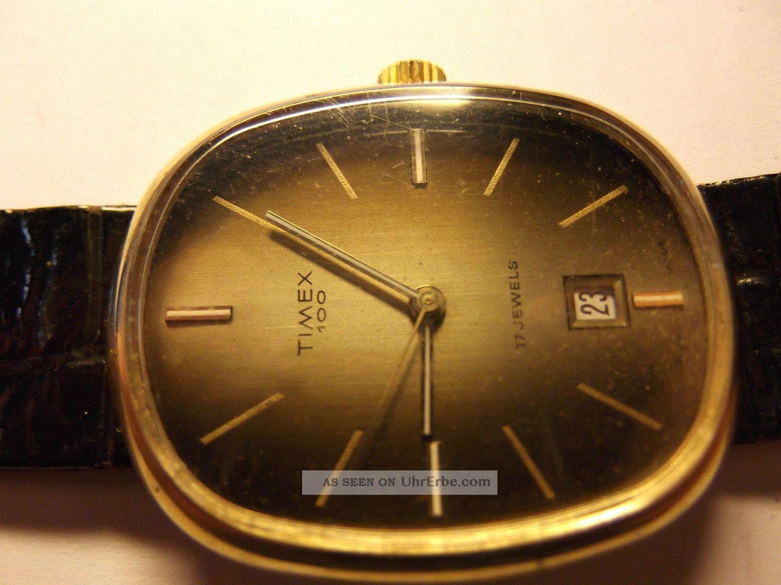 Timex Bj 1979 Neupreis 1979 - 700,  - Dm Läuft Nicht Mehr Sammlerstück Armbanduhren Bild