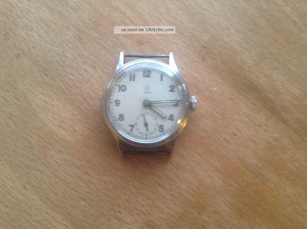 Junghans.  Herrenuhr.  Der.  40 ' Jahre (militäruhr ?) Armbanduhren Bild