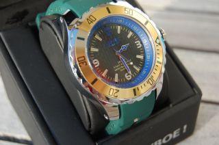 Kyboe Quartz - Uhr Giant 48,  Dunkelblau,  Originalverpackung,  Unisex Brasil Limited Bild