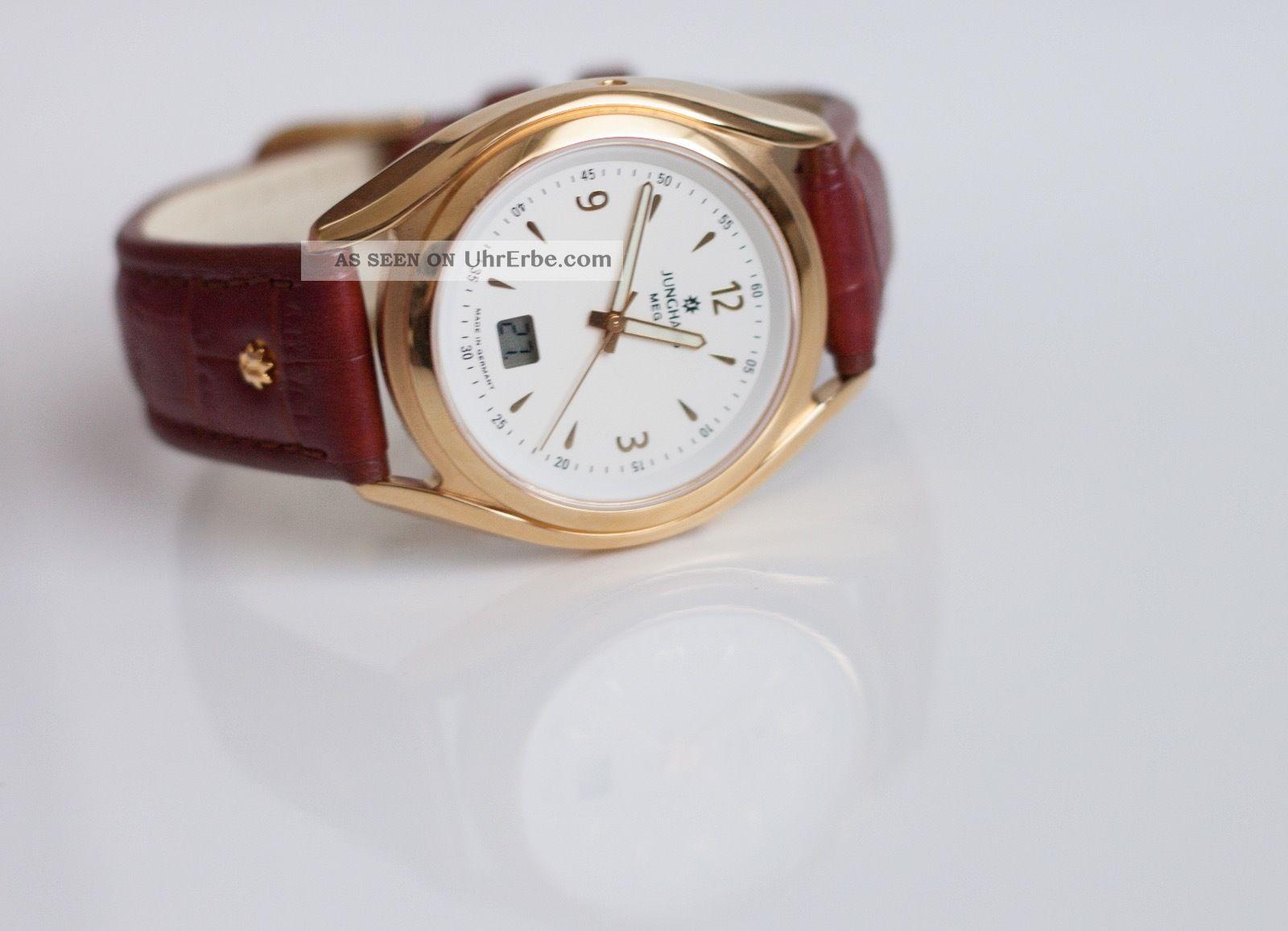 Junghans Integral Mega 30.  7067 Herrenarmbanduhr Funkuhr | Armbanduhren Bild