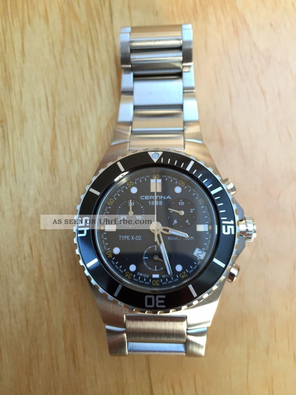Certina Herrenuhr X - 02 Armbanduhren Bild