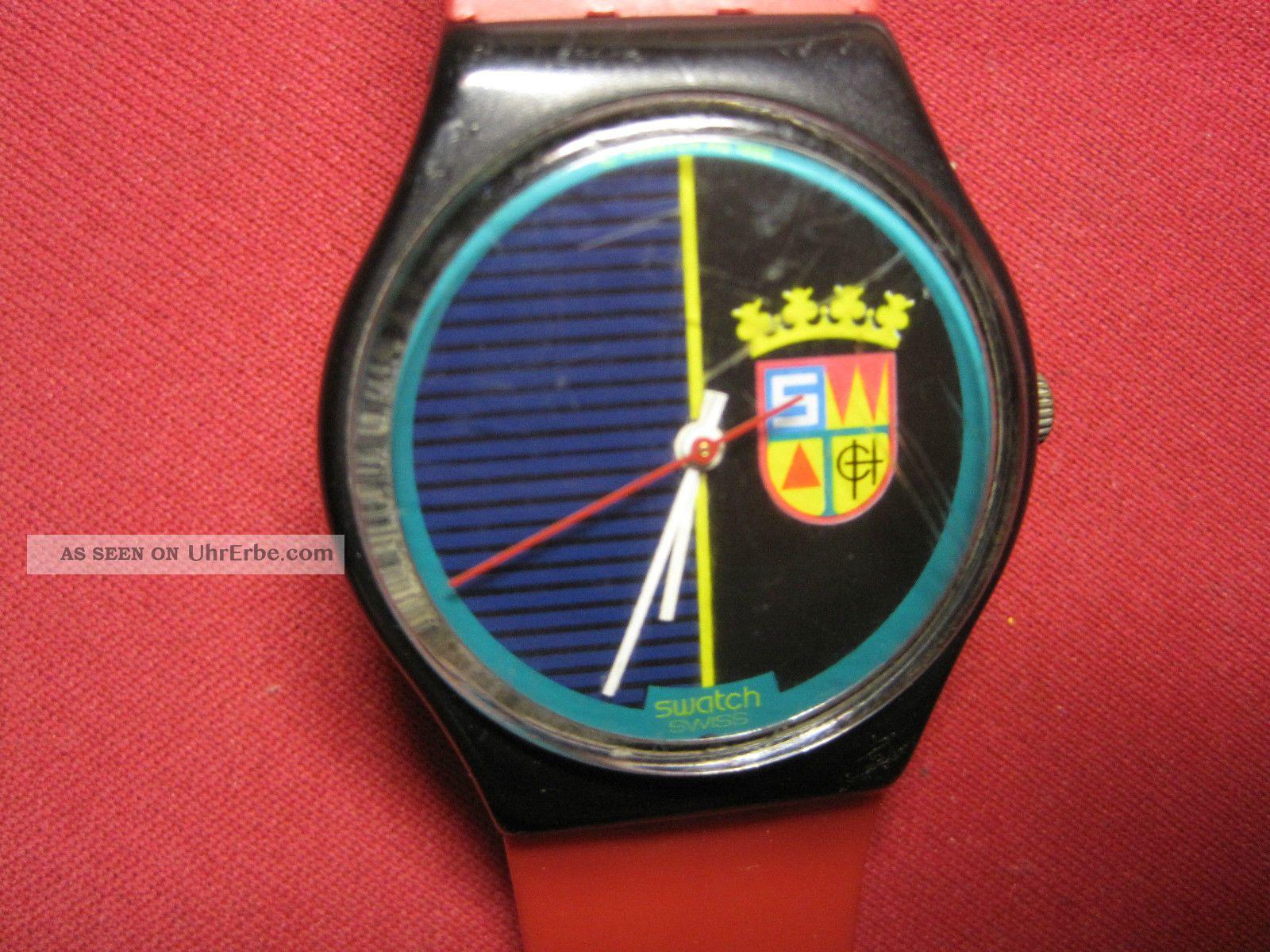 Herrenuhr,  Armbanduhr,  Uhr,  Swatch Ag 1986 Armbanduhren Bild