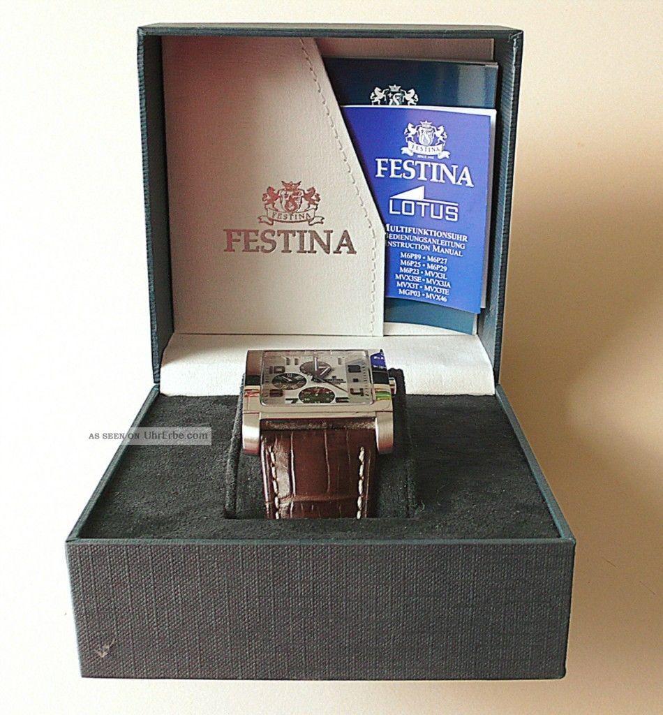 Festina Armbanduhr Für Herren Armbanduhren Bild