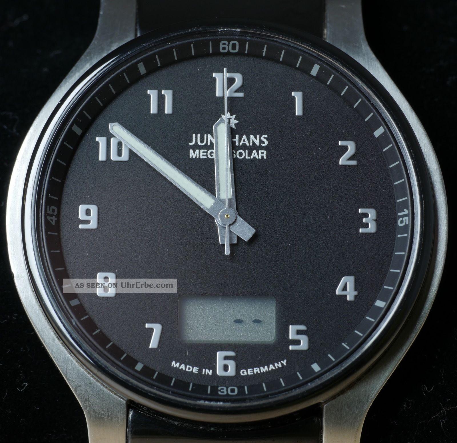 Junghans Mega Solar Ceramic Armbanduhren Bild