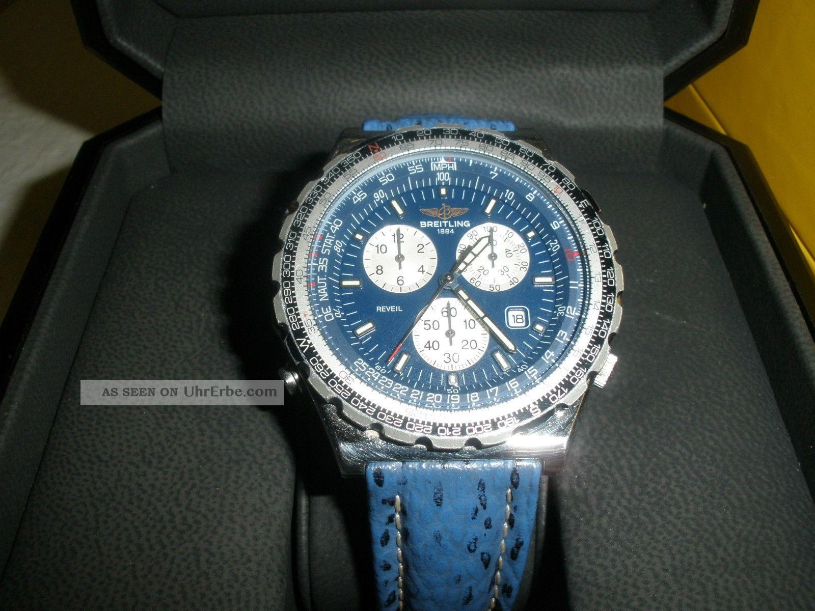 Breitling Navitimer Jupiter Pilot Chrono Armbanduhren Bild