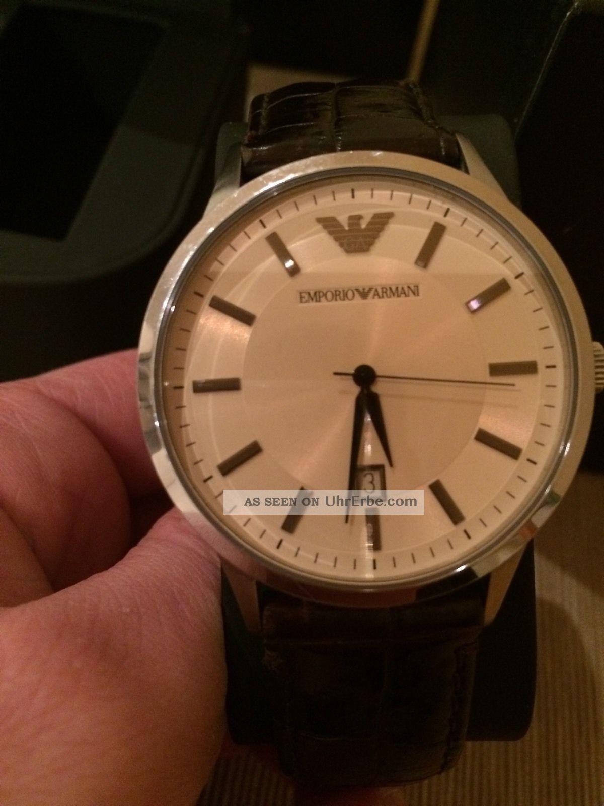 Emporio Armani Herrenuhr Armbanduhren Bild