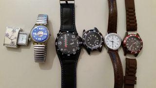 Uhren Konvolut Swatch,  Dior Bild