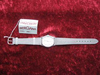 Bergana Herrenuhr,  Quartz,  Datum,  Made In Germany,  Neuwertig Bild