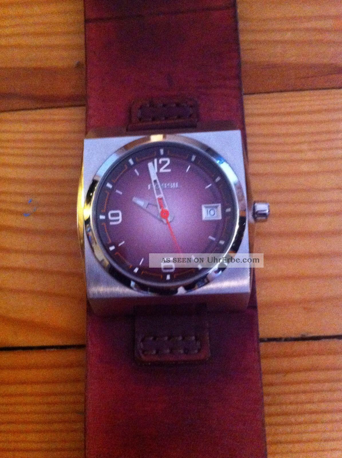 Fossil Herrenuhr Jr 9650 Braun Armbanduhren Bild