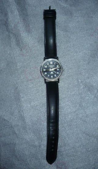 Kienzle/ Herren - Armbanduhr,  Mit Lederarmband,  Schwarz,  Neuwertig Bild