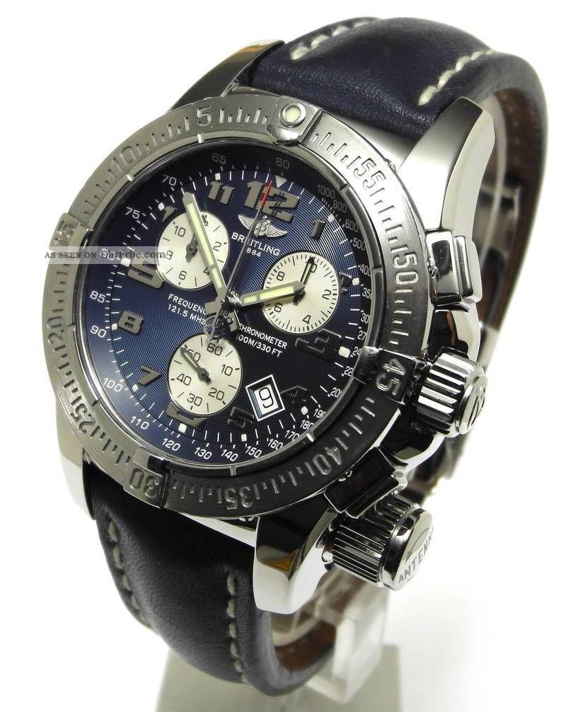 Breitling Professional Emergency Mission Ref A73320 2006 Armbanduhren Bild