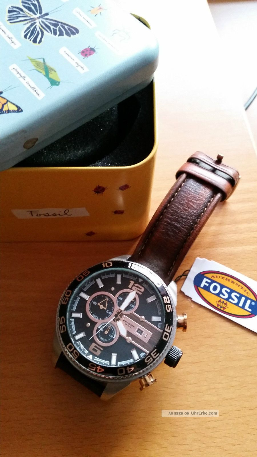 Chronograph Fossil Ch 2559 Armbanduhr Für Herren - Top - Mit Ovp Armbanduhren Bild