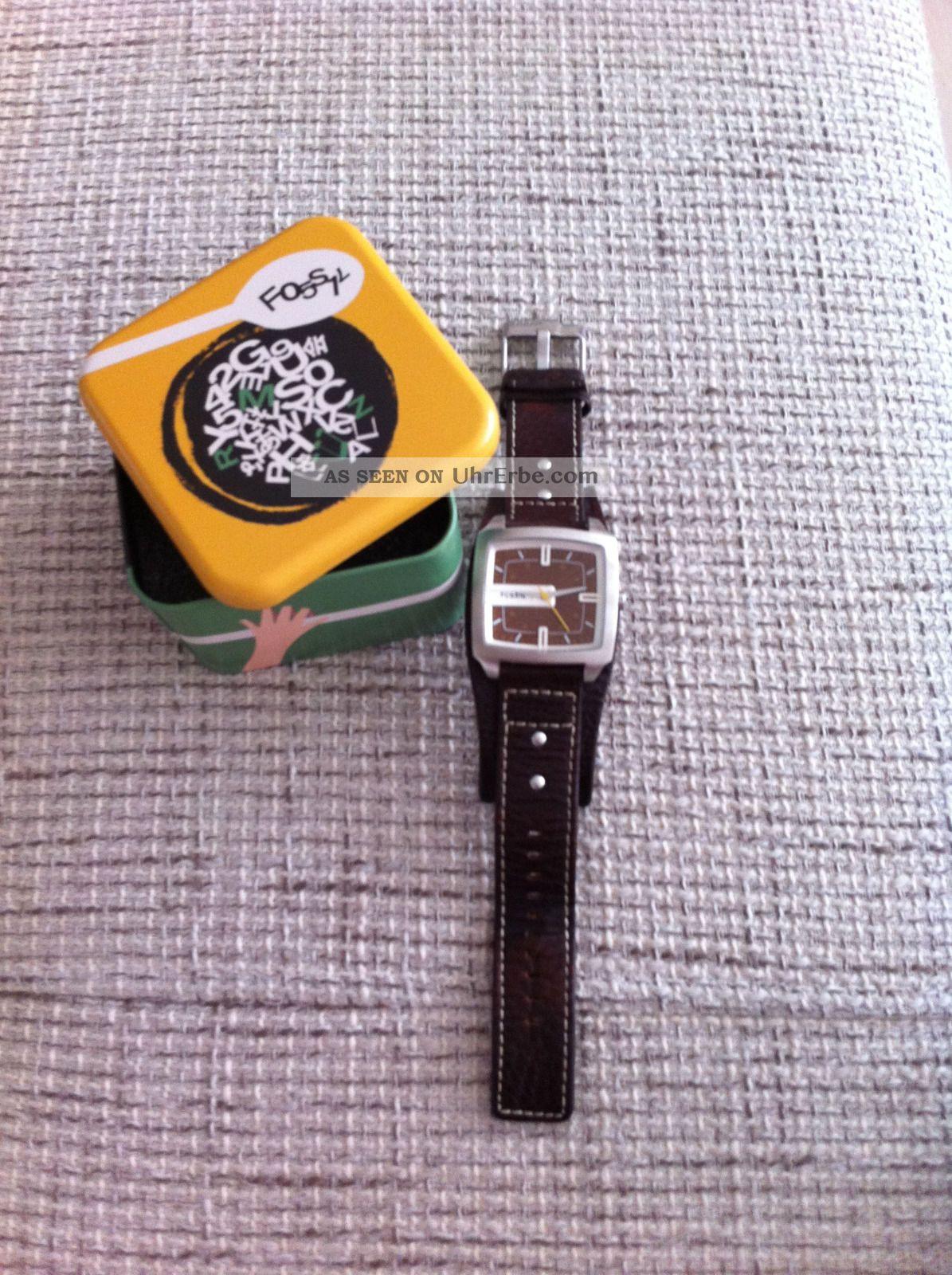 Fossil Herrenuhr Jr 9990 Armbanduhren Bild