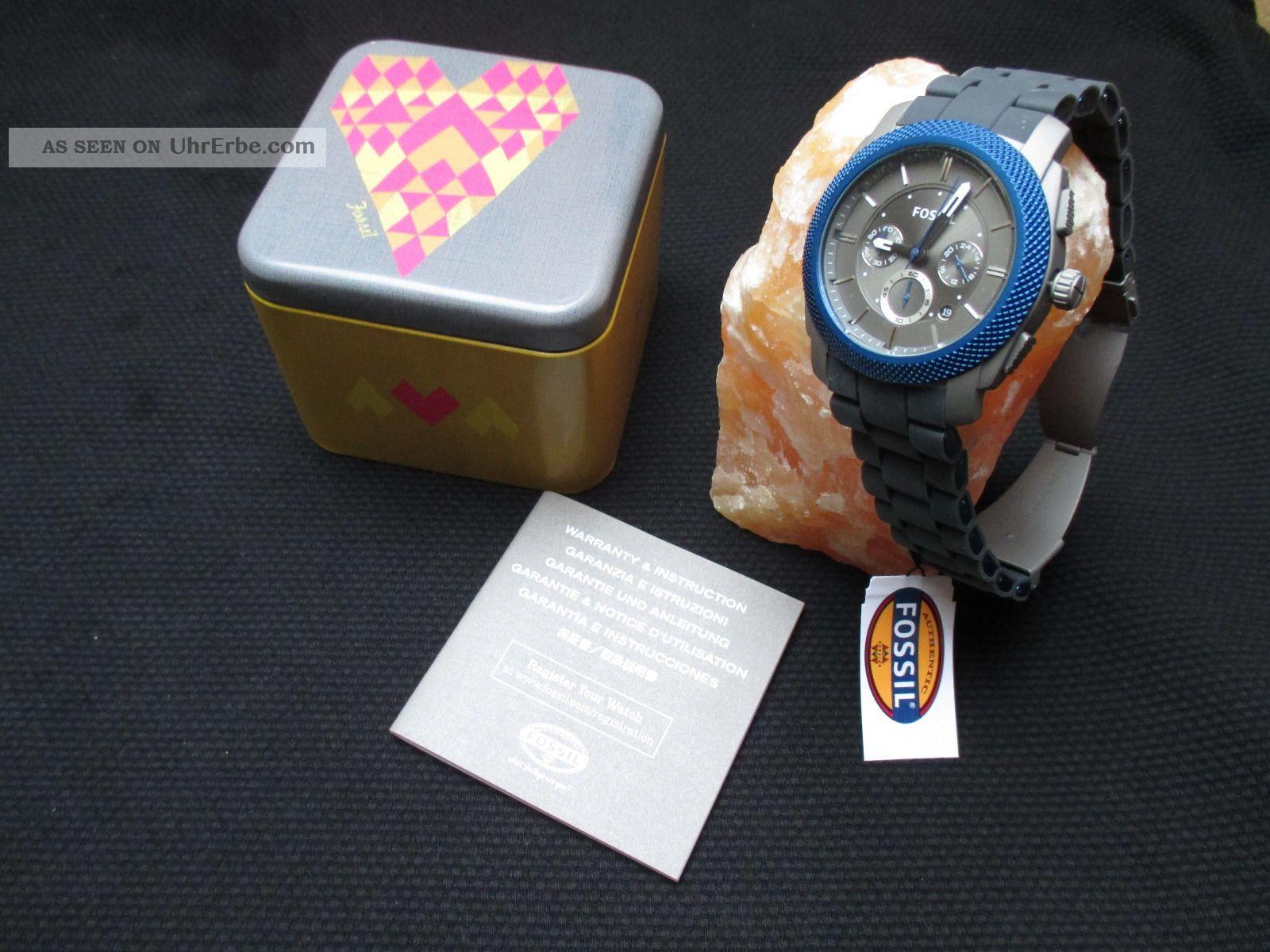 Fossil Chronograph Fs4659 Armbanduhren Bild