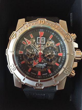 Ingersoll Herren Armbanduhr Bison No.  40 Limited Edition Schwarz In3217sbk Bild