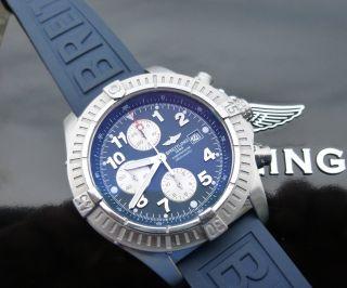 Breitling Avenger A13370 - 2x Bänder - Plus 2 Weitere Bänder Bild