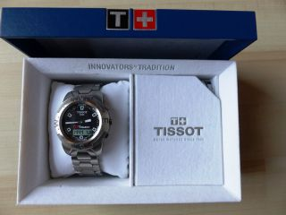 Tissot Herrenarmbanduhr T - Touch Z 252/352 In Ovp Multifunktionsuhr T33.  1588.  5f Bild