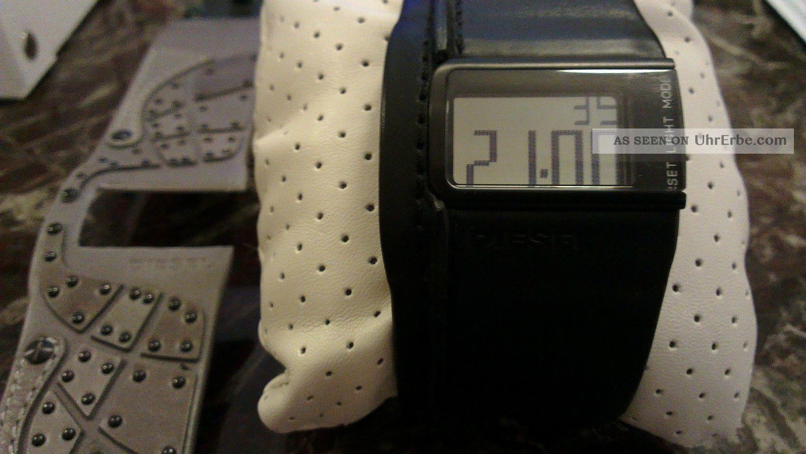 Diesel Ø40mm - Herrenuhr Digital - Dz7033 - Mit Zusätzlichem Armband Armbanduhren Bild