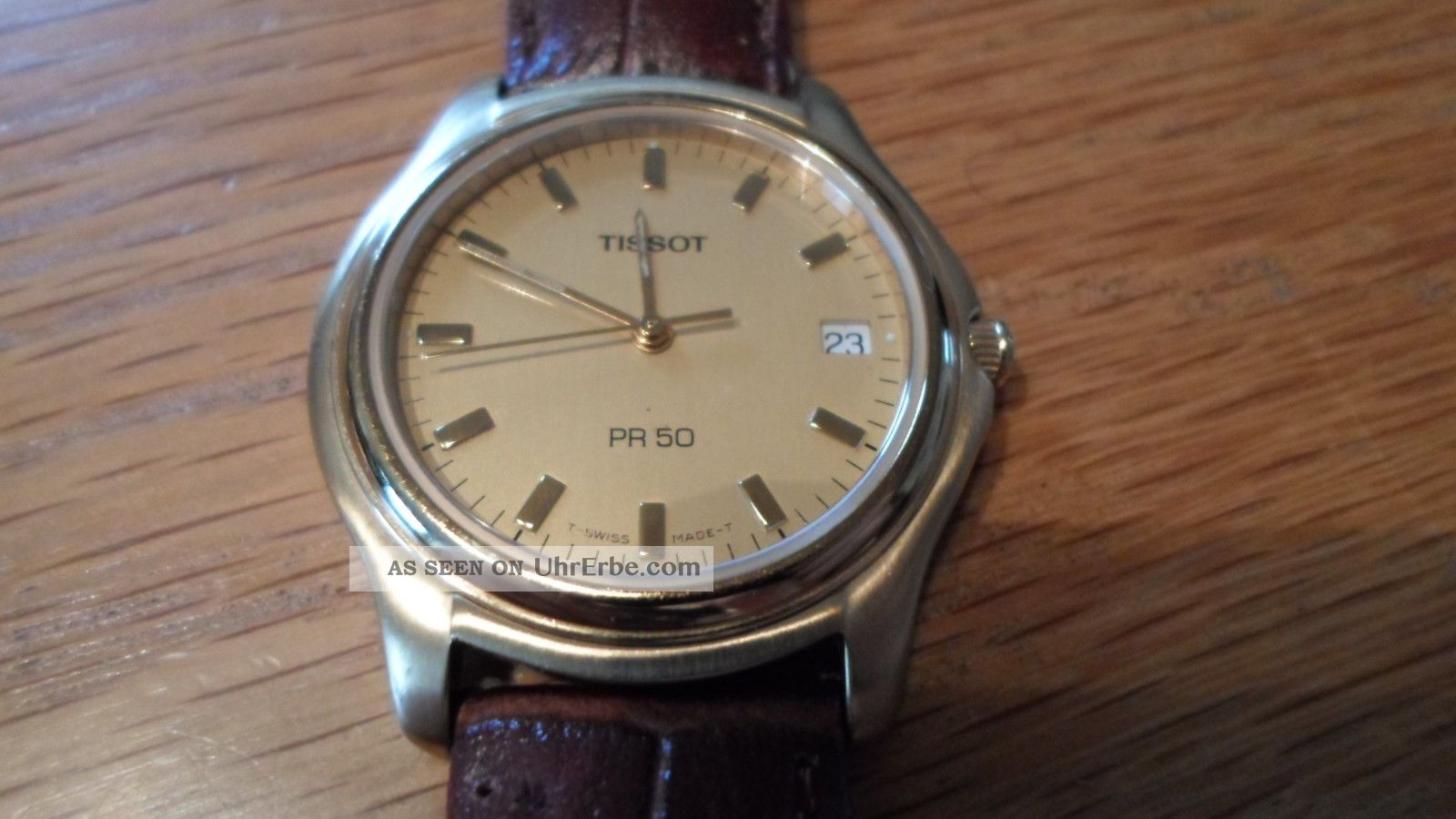 Tissot 1863 Pr 50 Uhr Armbanduhr Herren ° Schön° Armbanduhren Bild