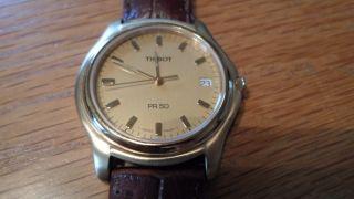 Tissot 1863 Pr 50 Uhr Armbanduhr Herren ° Schön° Bild