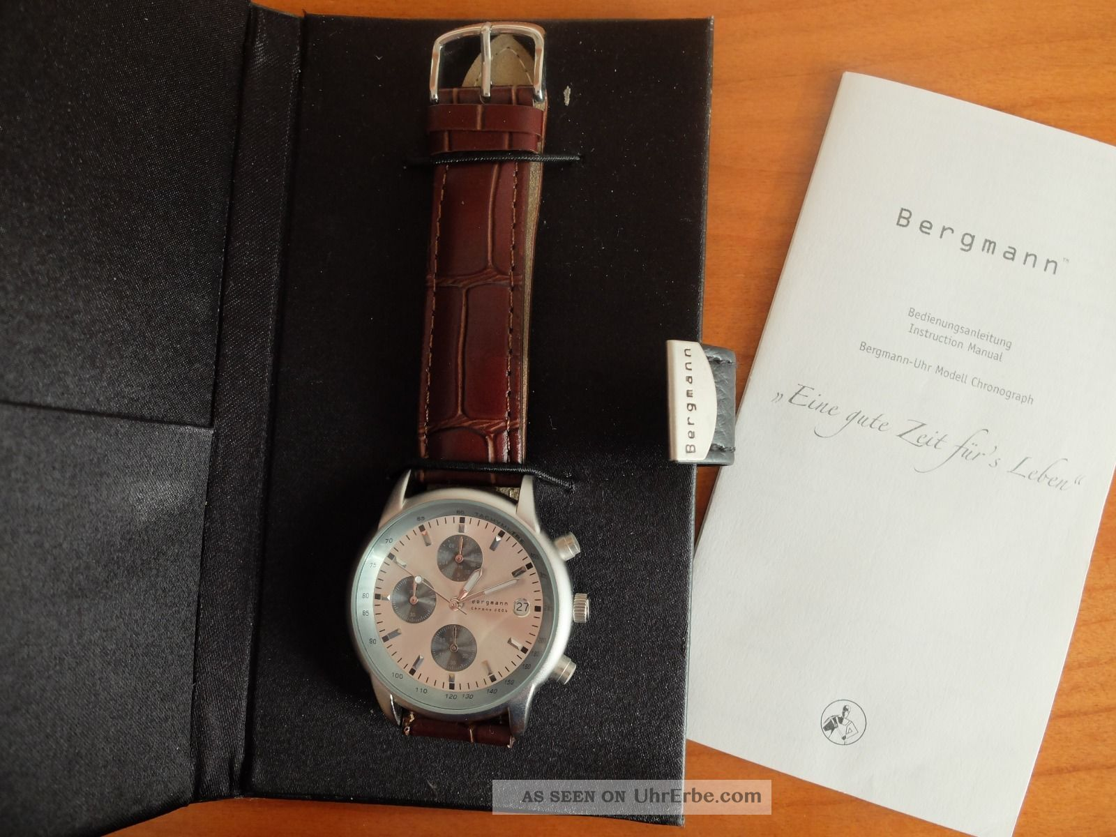 Herren Armbanduhr Bergmann 2006 Chronograph Armbanduhren Bild