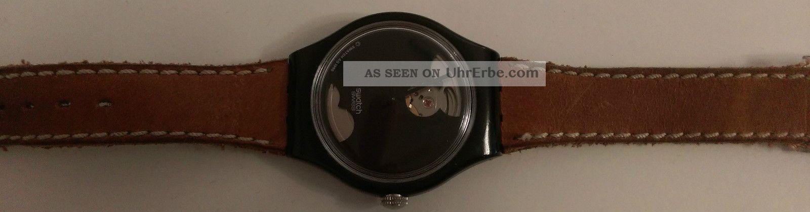 Swatch Automatik Uhr Armbanduhren Bild