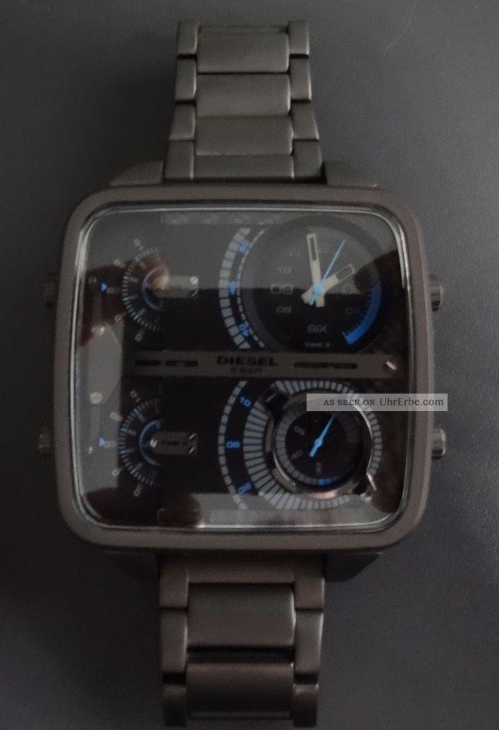 Diesel Dz 7284,  Hammerteil.  Absolut Neuwertig,  1a Armbanduhren Bild