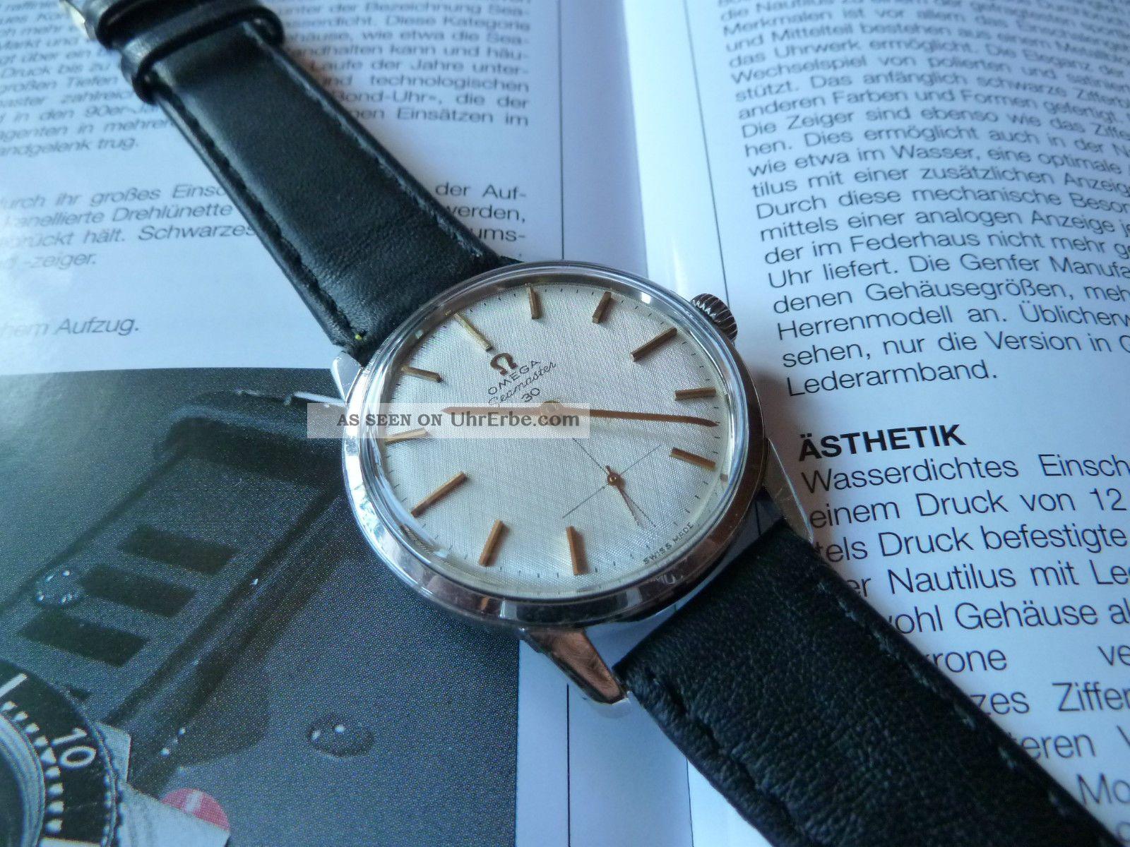 Vintage Omega Seamaster 30 Aus 1964,  Herrenarmbanduhr Armbanduhren Bild