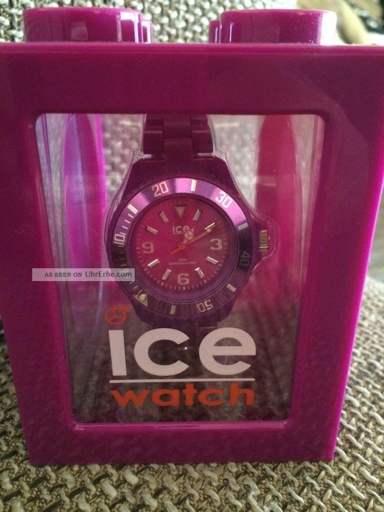 Ice - Watch Unisex - Armbanduhr Classic Solid Violett Cs.  Pc.  S.  P.  10 Armbanduhren Bild