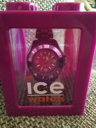 Ice - Watch Unisex - Armbanduhr Classic Solid Violett Cs.  Pc.  S.  P.  10 Bild