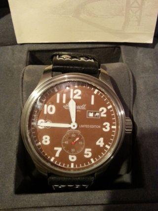 Ingersoll Gmt Herren Automatik Uhr Limited Edition Bild
