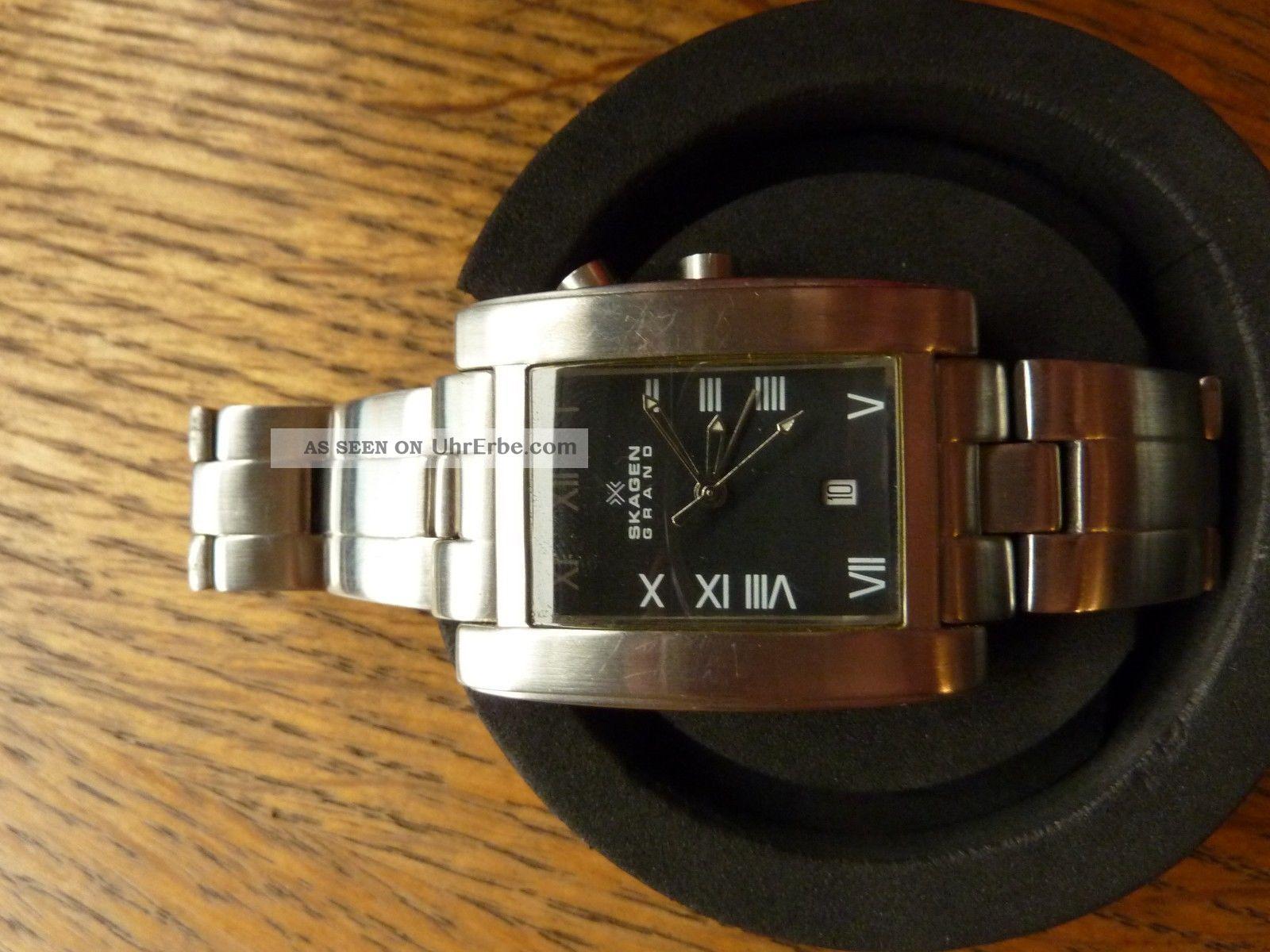 Skagen Grand Armbanduhren Bild