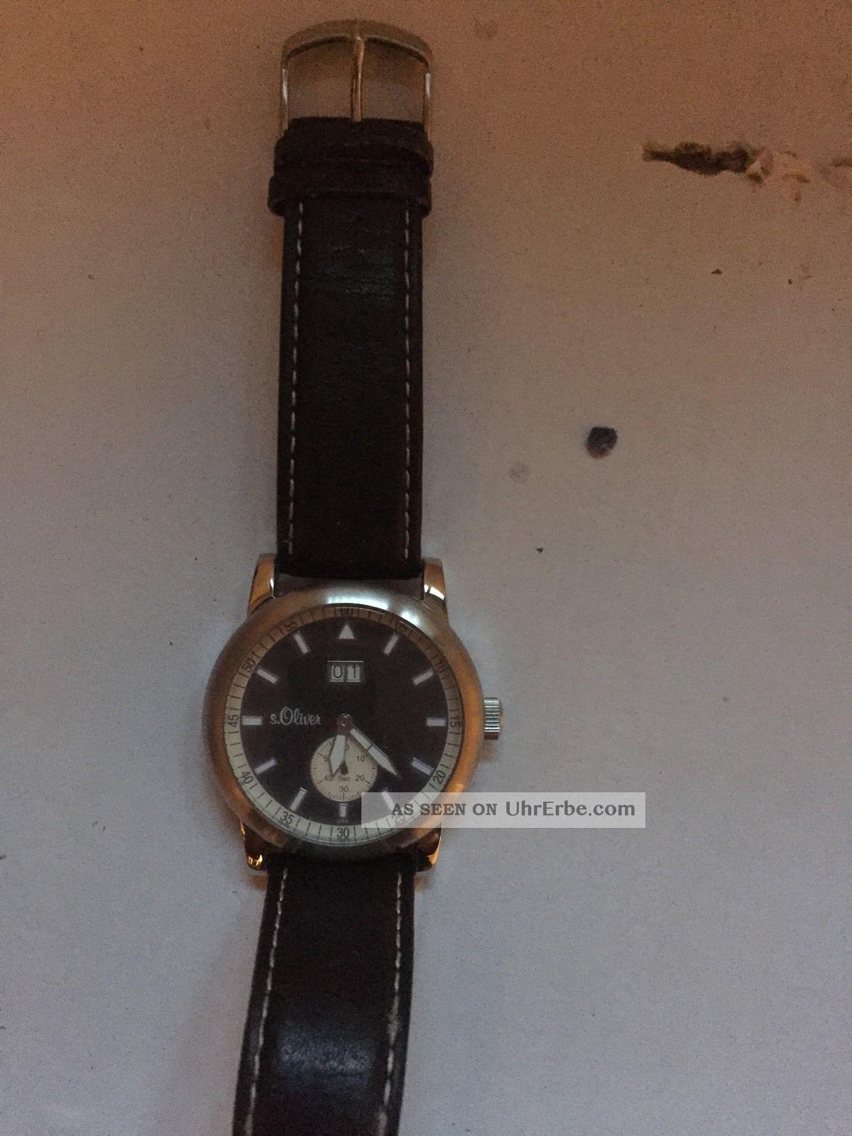 Armbanduhr Für Herren Von S.  Oliver Armbanduhren Bild