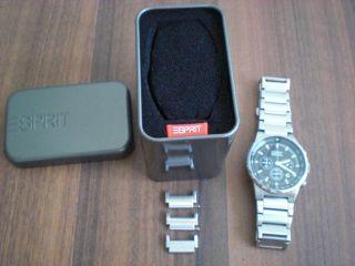 Herren Uhr Chronograph Von Esprit Bild