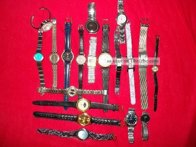 20 Damen - Und Herrenuhren Fossil Lacoste Citizen Armbanduhren Bild