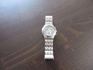 Swatch Herren - Armbanduhr Edelstahl Matt Bild