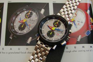 Alain Silberstein Krono Bauhaus Gummy Chronograph - Sport Kollektion - Limitiert Bild