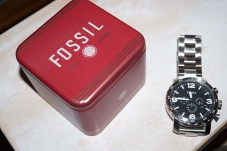 Fossil Nate Jr1353 Armbanduhr Für Herren Bild
