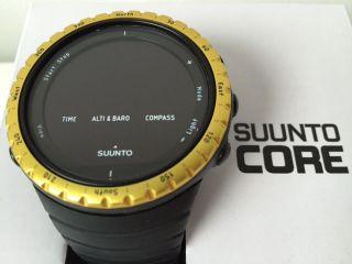 Suunto Core Black Yellow - Sportuhr - Modelnummer.  : Ss013315010 - Rarität Bild