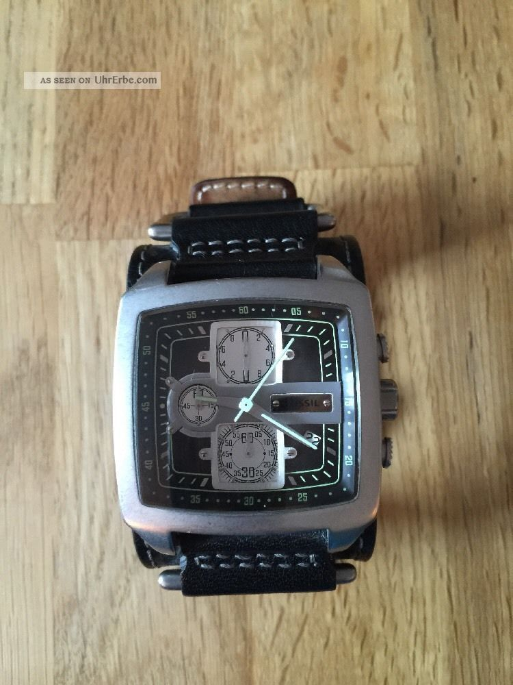 Fossil Uhr Herren Top Armbanduhren Bild