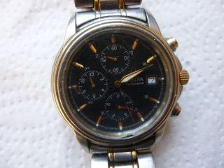 Armbanduhr Aus Papas Sammlung Nr.  30 Chronograph Funktion Mindes 24 Std. Bild