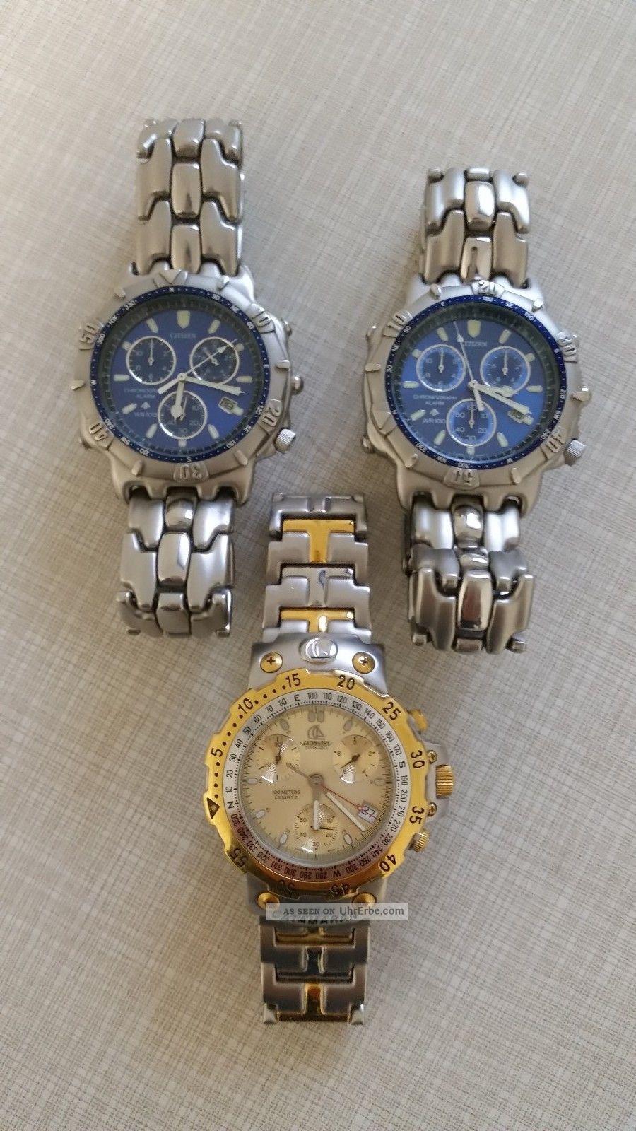 Citizen,  Catamaran Chronograph Uhren Armbanduhren Bild