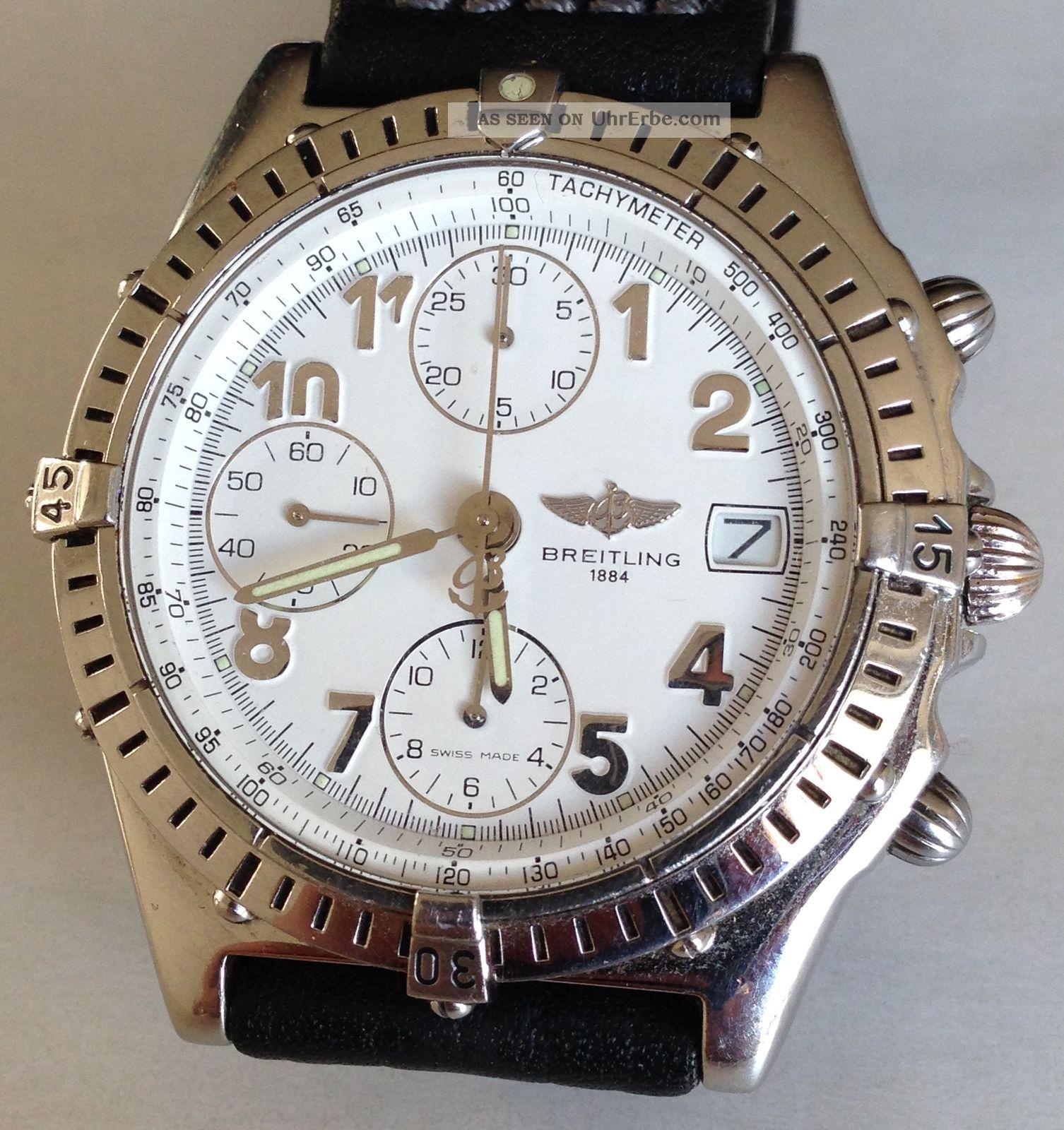 Breitling Chronomat Cockpit A13048 Chronograph Automatik Armbanduhr Armbanduhren Bild