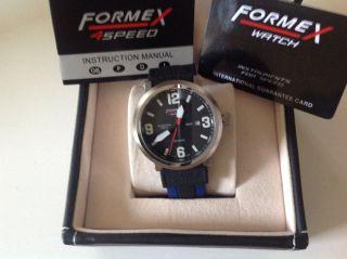 Formex 4 Speed Quarz Herren Armbanduhr,  Ungetragen,  Ovp, Bild