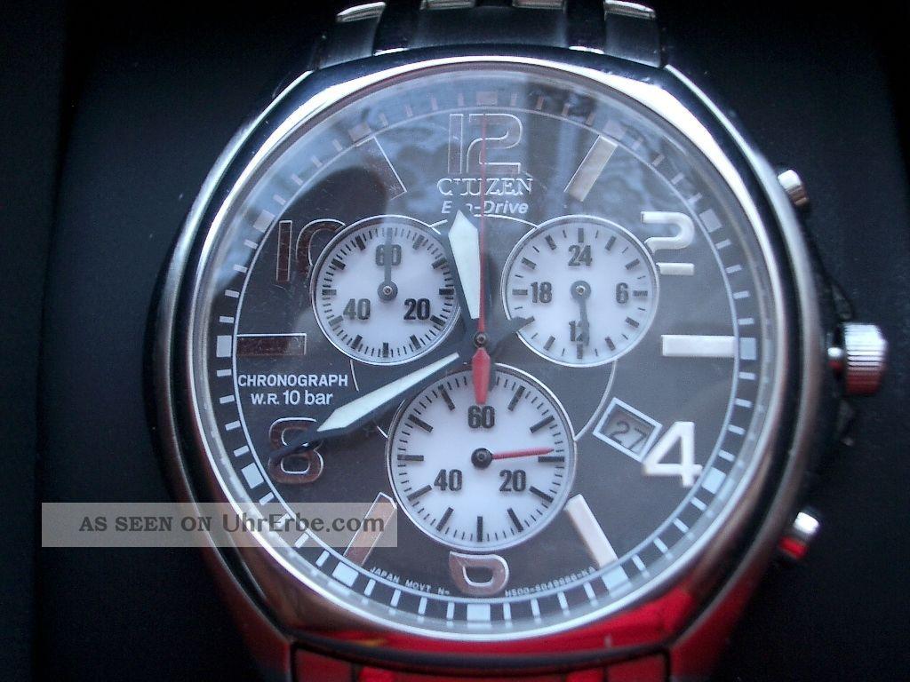 Citizen Chronograph Eco Drive Armbanduhren Bild