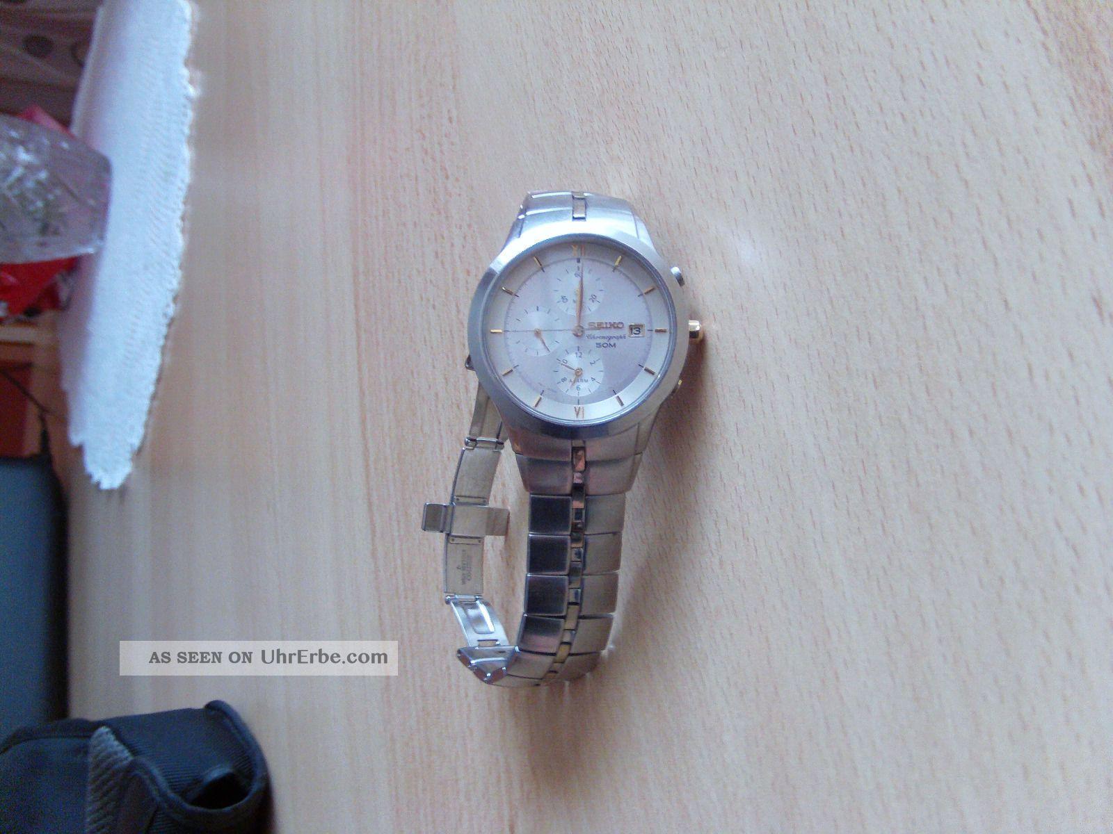 Seiko Uhr Armbanduhren Bild