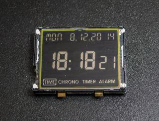Junghans Mega 1000 Funkuhrwerk 604.  64 Inkl.  Neuer Sony Batterie Cr1620 Bild