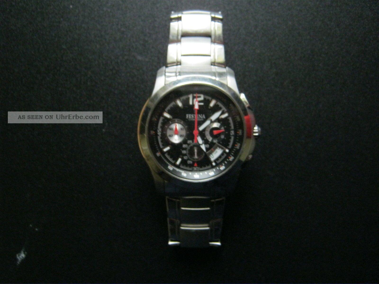 Festina Herrenuhr Armbanduhren Bild