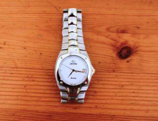 Jaguar Herrenarmbanduhr J290/1 Sehr Schicke Uhr Mit Holzkasten Und Ruhekissen Bild